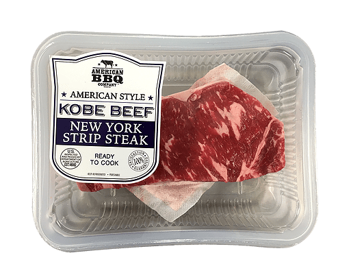 american style kobe beef new york strip steak