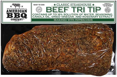 fresh beef tri tip steak