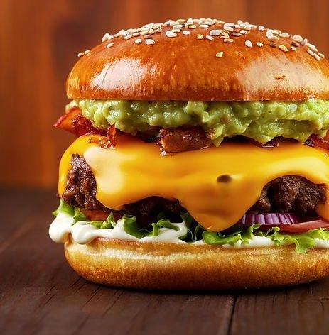 ground beef burger
